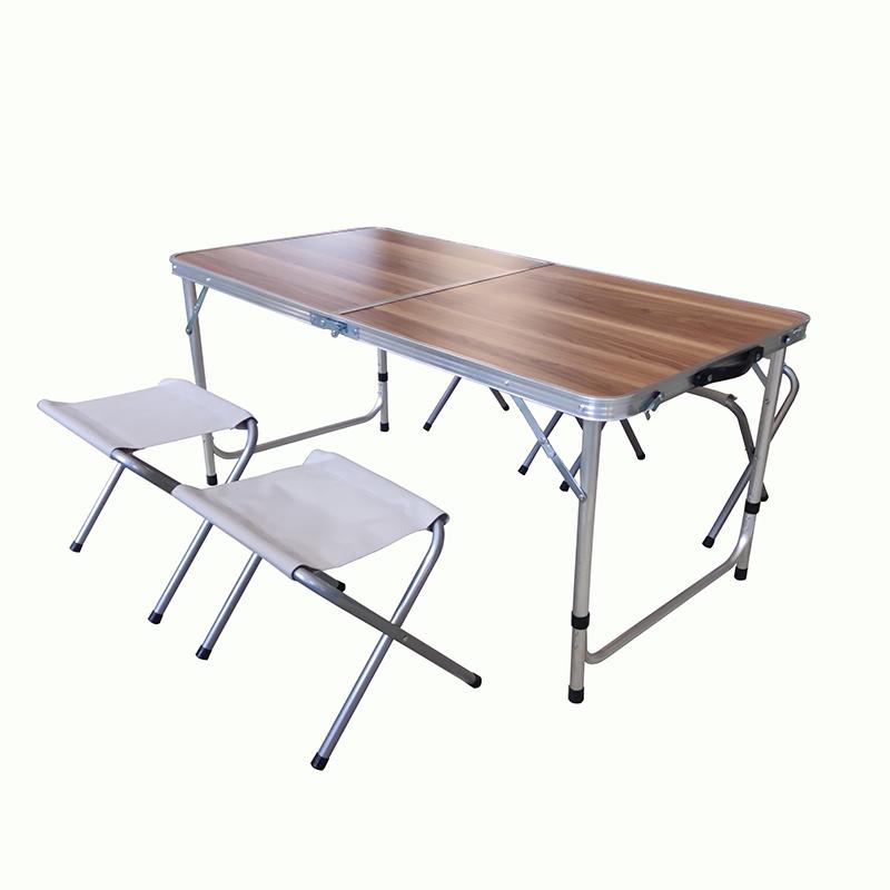 JJS083 Camping aluminum folding set