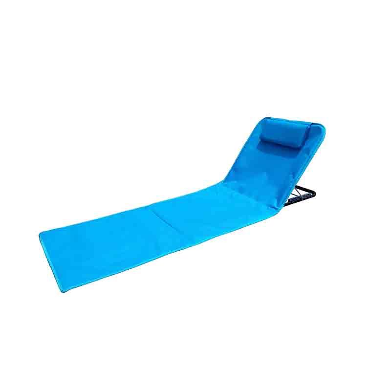 China Cheap price Sunlounger - JJL3201 Steel frame adjustable beach mat – Jin-jiang Industry