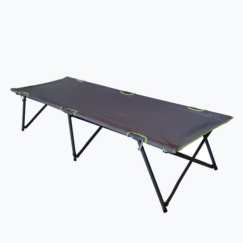 Good User Reputation for Cheap Rattan Chair - JJL3203 Steel frame folding sunbed – Jin-jiang Industry