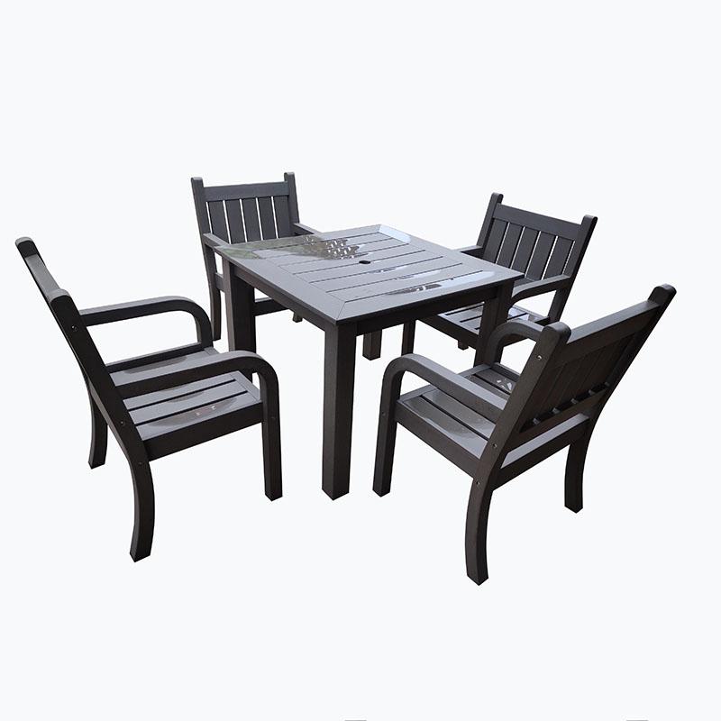 Discount wholesale Circle Outdoor Furniture Garden Set - JJS14502 PS wood outdoor patio set – Jin-jiang Industry Featured Image