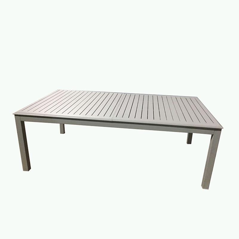 China New Product Powder Coated Aluminum Garden Sofa Set - JJT6302AS Aluminum extension table – Jin-jiang Industry
