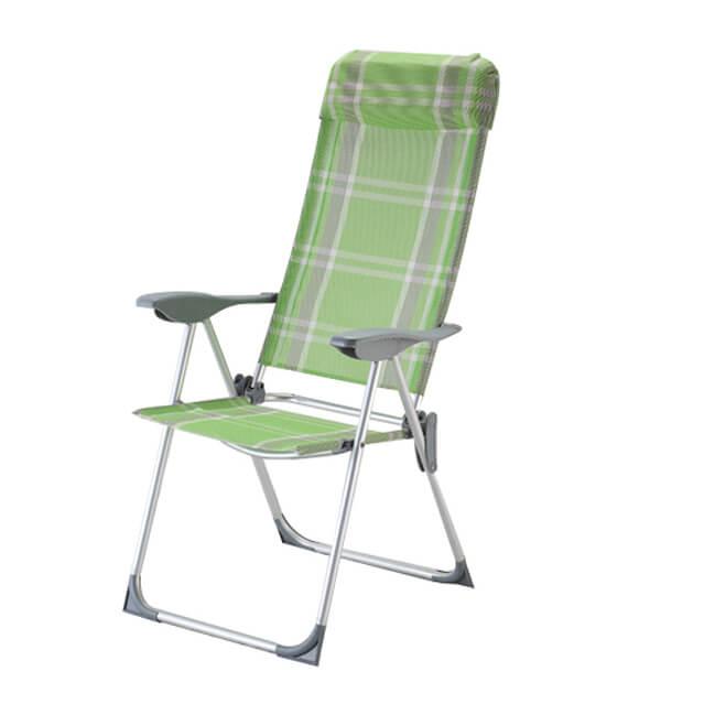 OEM/ODM Supplier Cheap Beach Chairs - JJLXS-034 Aluminum folding camping chair – Jin-jiang Industry