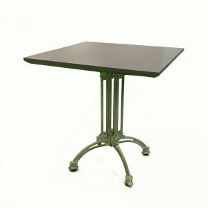 Discount Price 31667 – Garden Wicker - JJT1702 Aluminum outdoor patio square table – Jin-jiang Industry