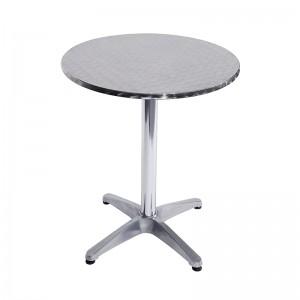 OEM Factory for Cheap Outdoor Gazebos - JJLXT-001A Aluminum bar table – Jin-jiang Industry