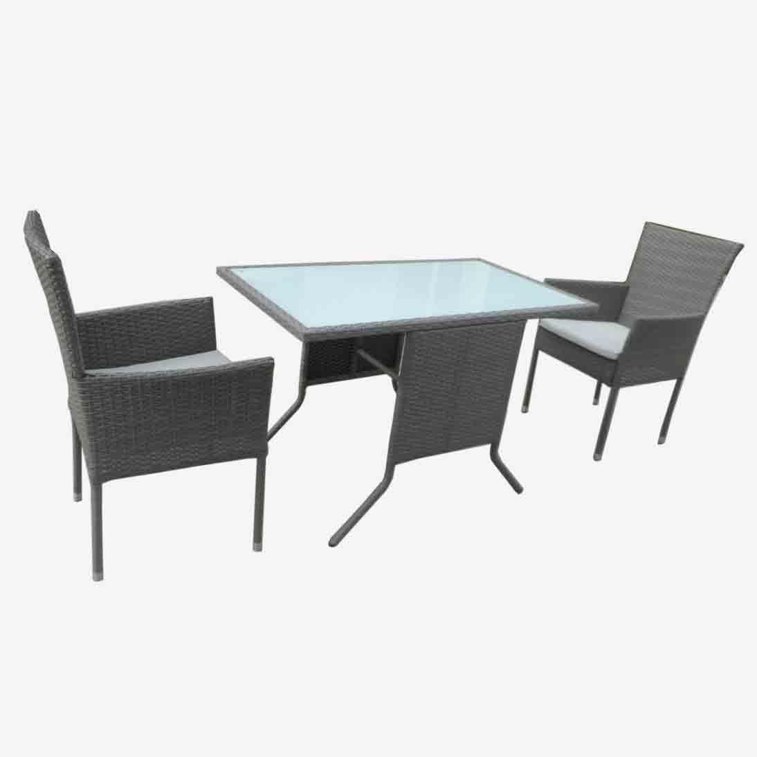 High definition Wicker Furniture Set - JJS229ST Steel frame rattan sofa set – Jin-jiang Industry