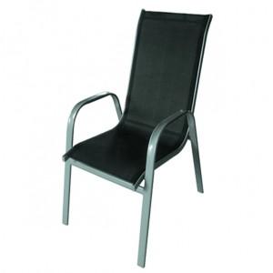 Big discounting Garden Outdoor Folding Chair - JJ303C  Steel textilene stacking chair – Jin-jiang Industry