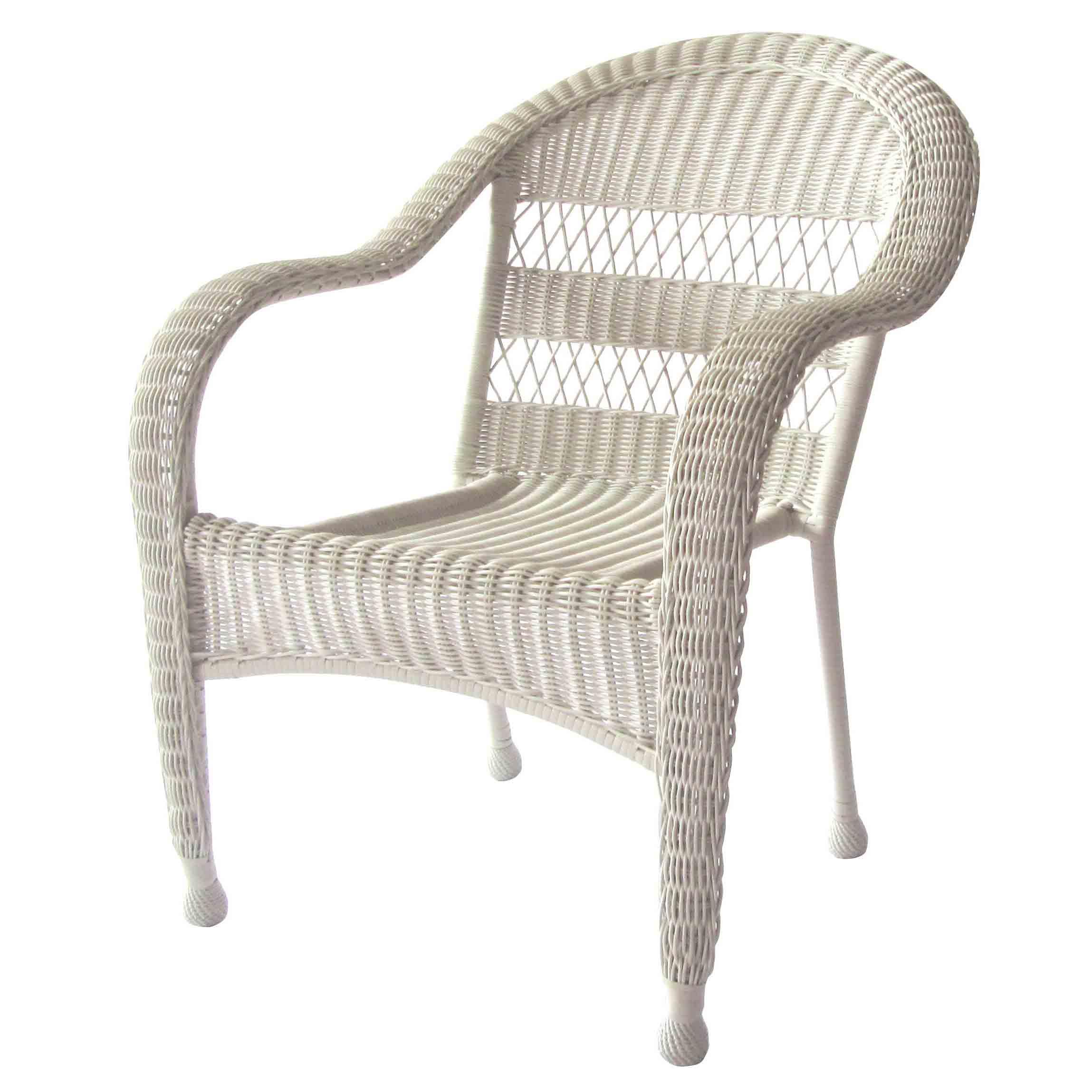 Professional Design Outdoor Wicker Furniture - JJC1012W Steel Frame Stacking Wicker Chair – Jin-jiang Industry