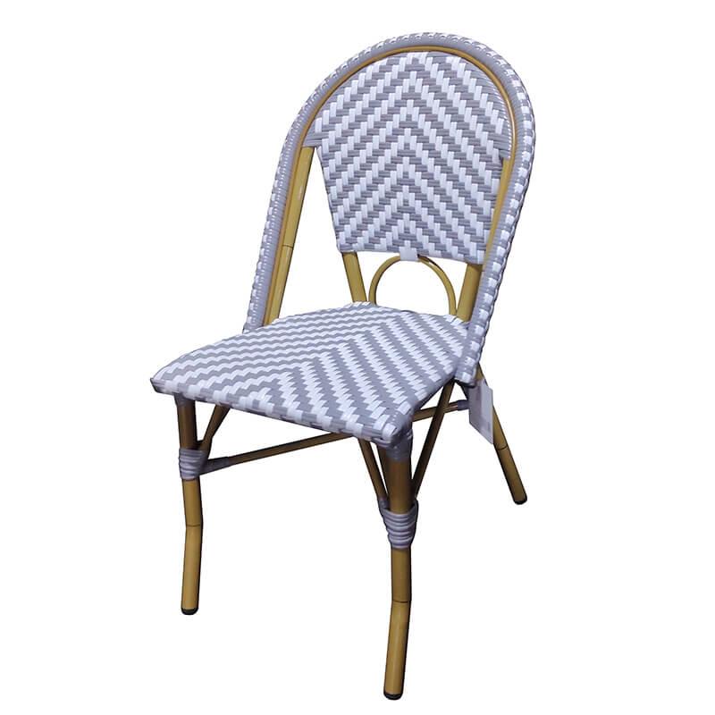 JJC2001 Auminum rattan starbucks chair