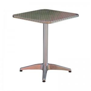 Factory Cheap Garden Chairs Outdoor - JJLXT-004A Aluminum bar table – Jin-jiang Industry