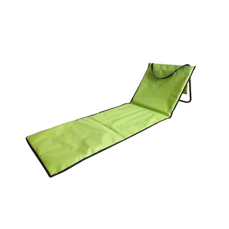 High reputation Sun Loungers Outdoor Furniture - JJL3202 Steel frame adjustable beach mat – Jin-jiang Industry