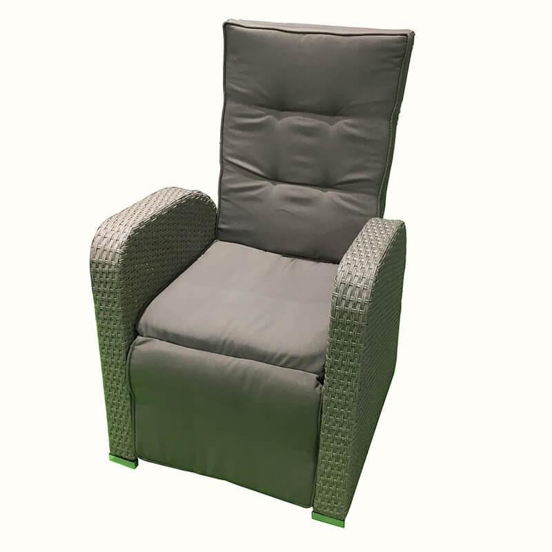 factory low price Children Plastic Swing - JJC3070 Steel Frame Stacking Wicker dinning Chair – Jin-jiang Industry
